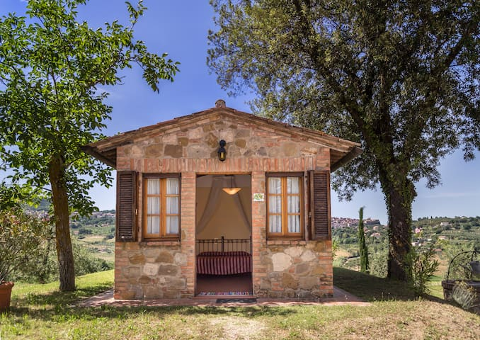 Romantica matrimoniale in agriturismo con SPA - Chianciano Terme - Bed & Breakfast