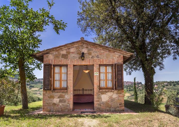 Camera con giardino e accesso SPA in Toscana