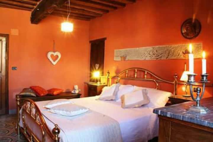 Mio Barbaro, camera Arrigo. Castel Rigone-Umbria