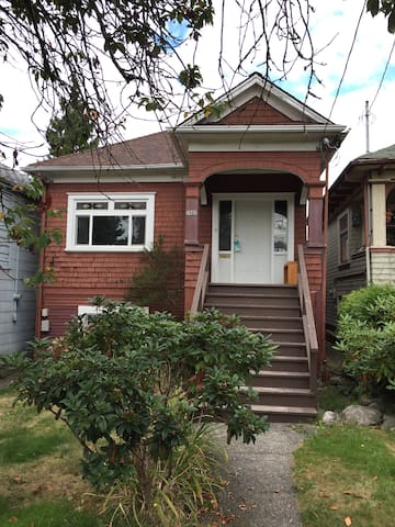 Character Home In the heart of Commercial Drive