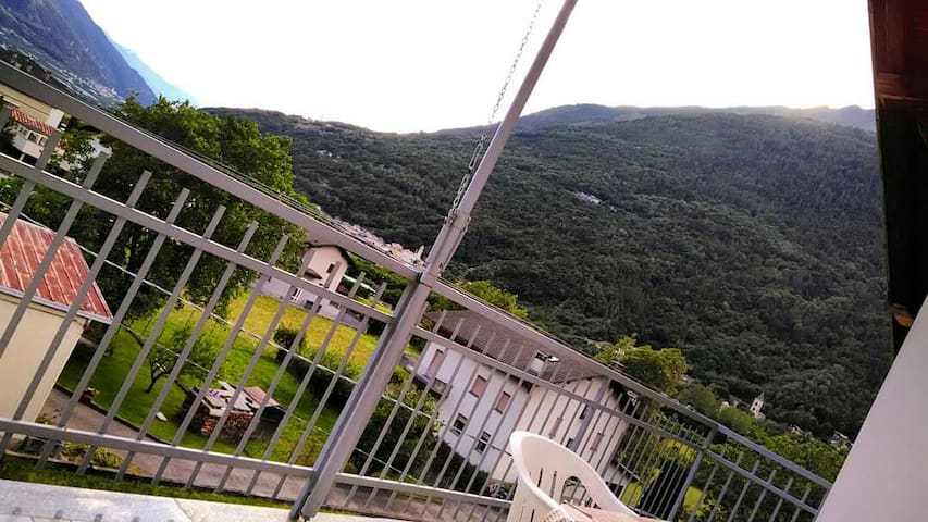 Vista dal balcone / View from the balcony
