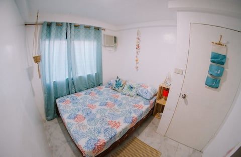 Cozy room for two forty steps away from the beach