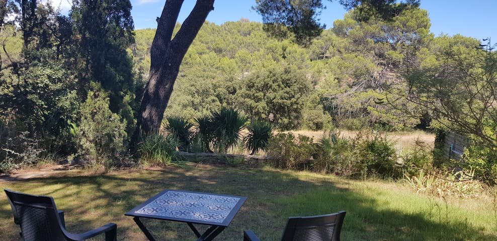 Chambre spacieuse et indépendante en Provence