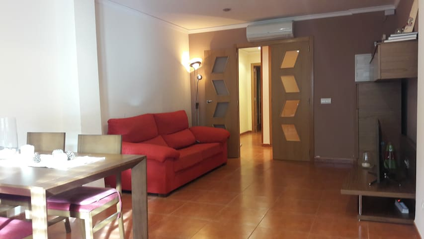 Comfortable apartment in a charming town