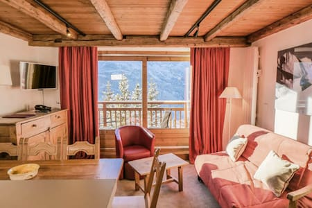 BRIGHT & FRIENDLY APARTMENT IN MERIBEL ROND POINT DES PISTES