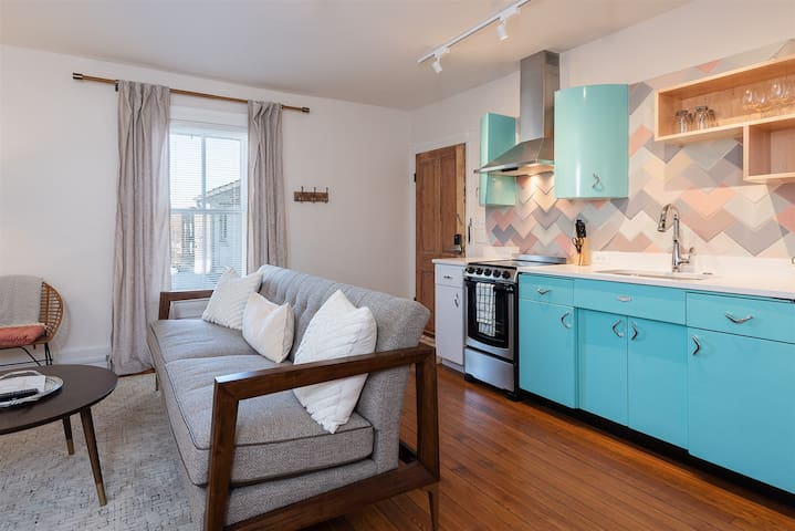 Retro Apartment | One of Seven Individually Designed Units in The Belmont Farmhouse