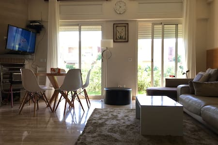 Appartement à Sidi Rahal/Rez de Jardin/Piscine