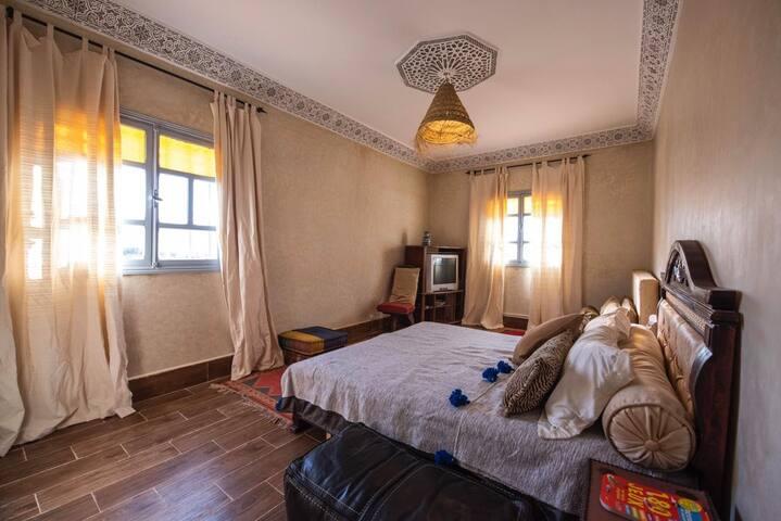 Maison de charme Le petit jardin chambre 1