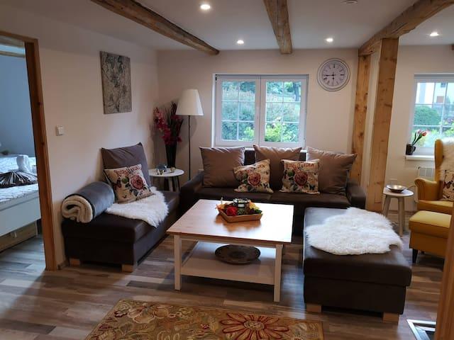 U Andela Mountain House - newly with a jacuzzi!
