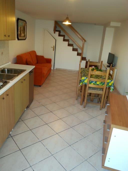 cucina/salone