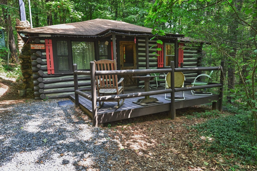 Asheville Historic Log Cabin 19 Goldview Cabins For