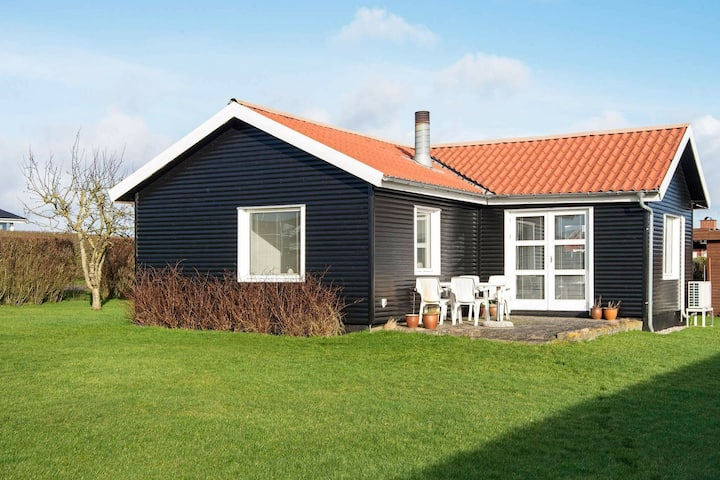 Bright Holiday Home in Jutland Denmark with Terrace
