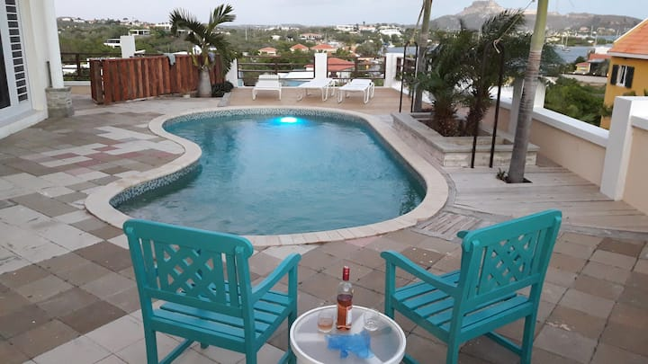 Nice View apartment with private pool