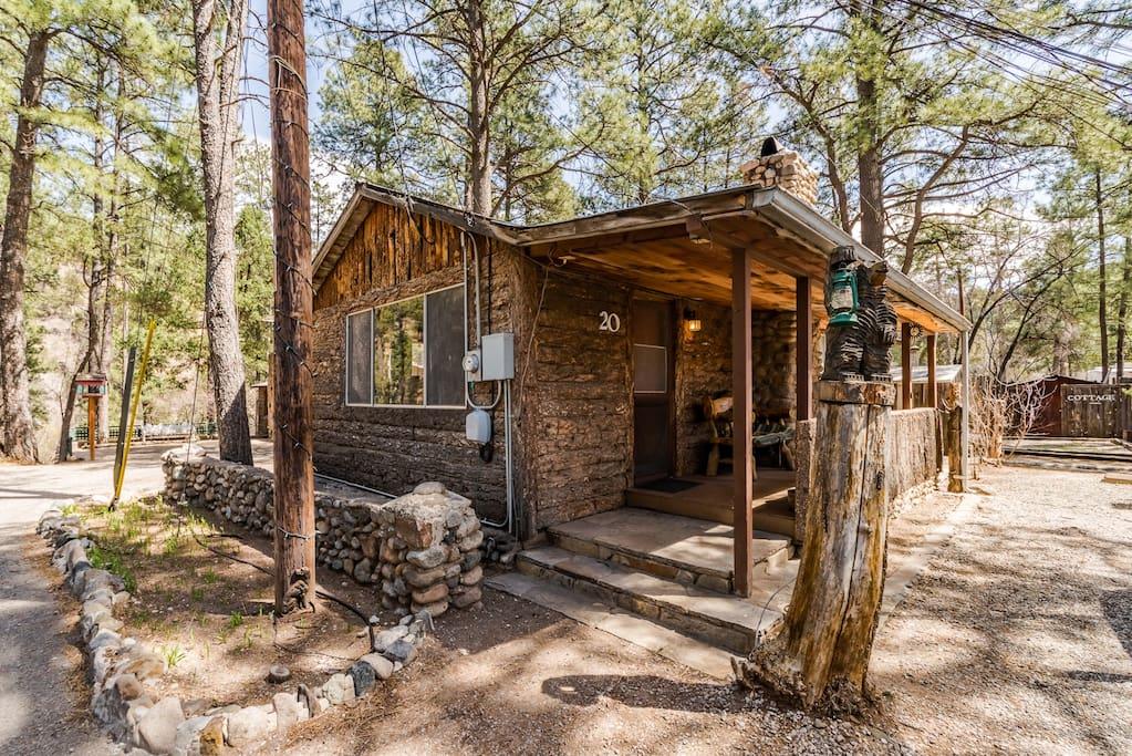 Ponderosa cabins 104 n laurel cabin 20 cabins for rent for 6 bedroom cabins in ruidoso nm