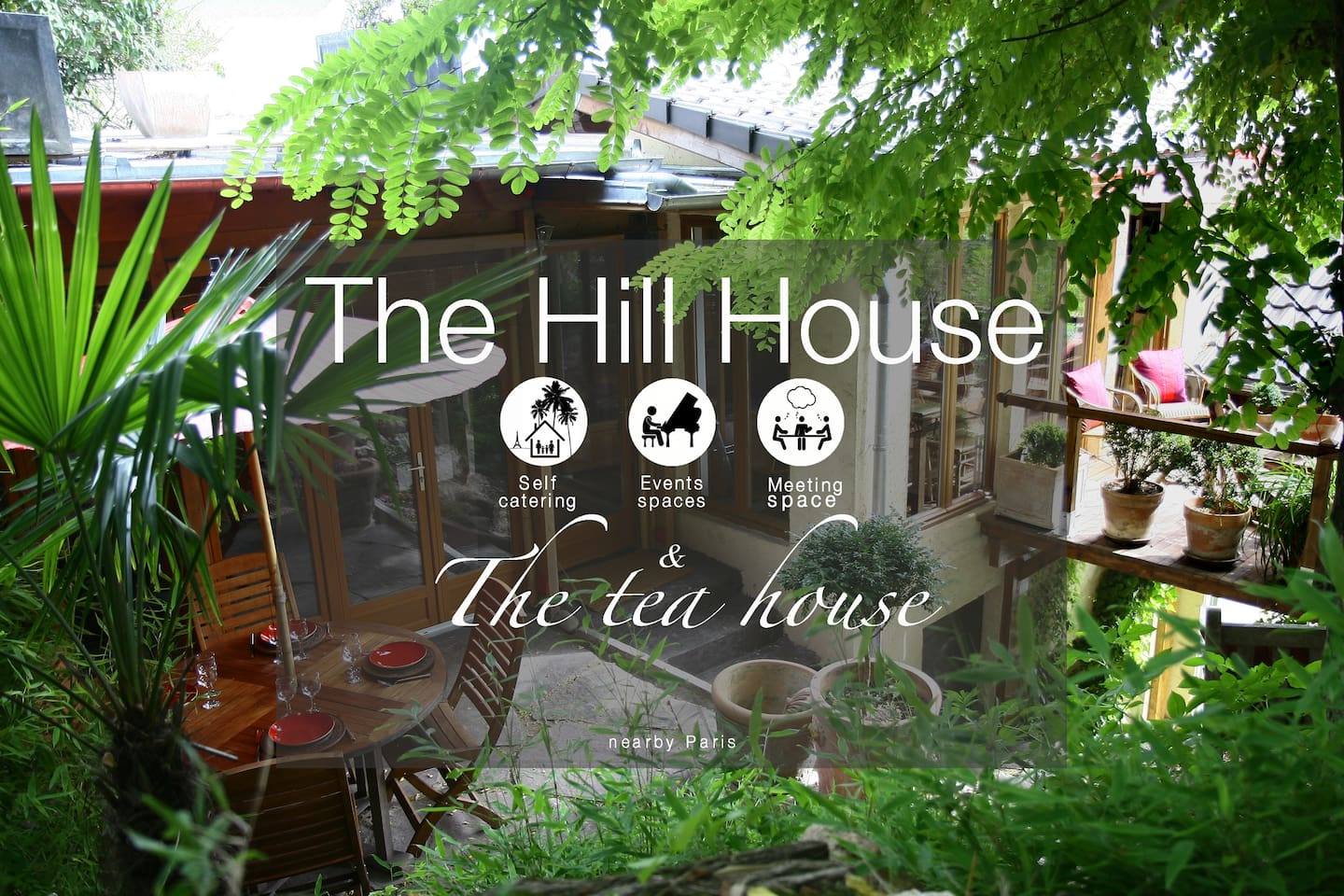 the hill house 130m2 nearby paris houses for rent in la frette
