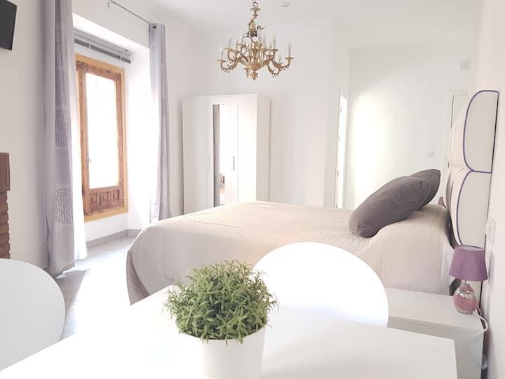 """N1-""""Casa Botes""""-habitación doble con baño privado"""