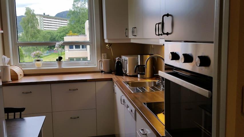Koselig leilighet i Fyllingsdalen - Bergen - Daire