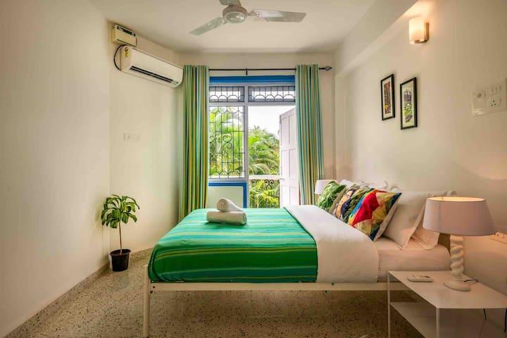 1 Bedroom apartment near Candolim beach