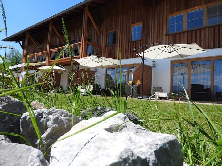 Falkenstein Doppelzimmer mit Bergblick