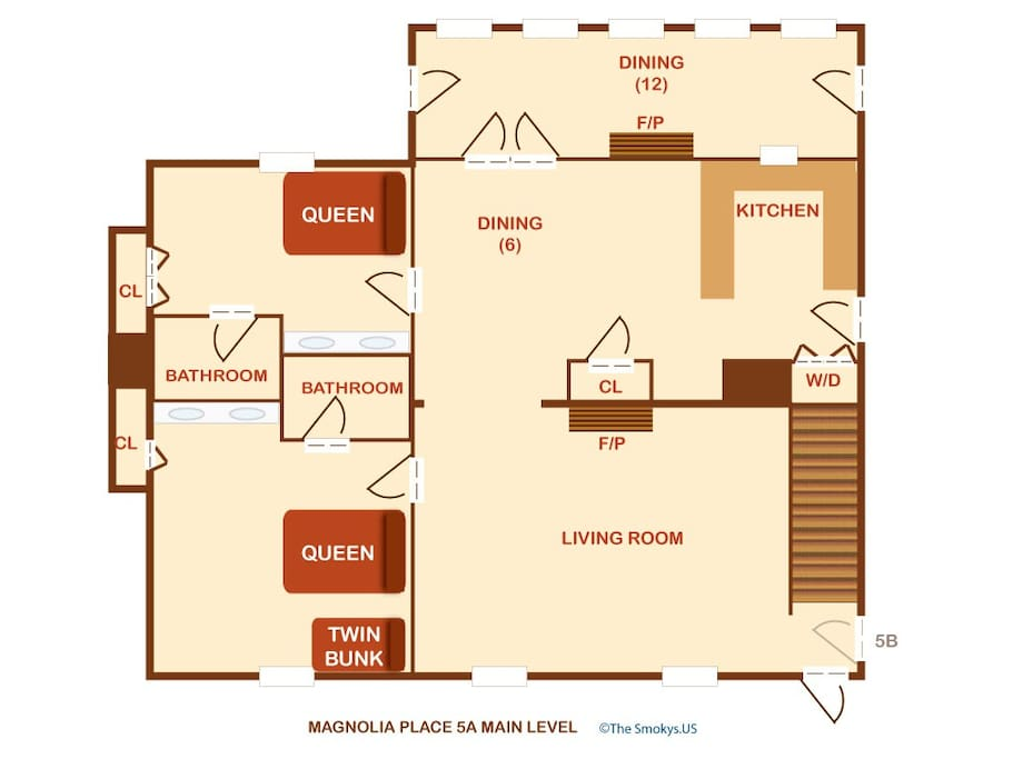 Magnolia Place Unit 1 (#5)-Floor Plan