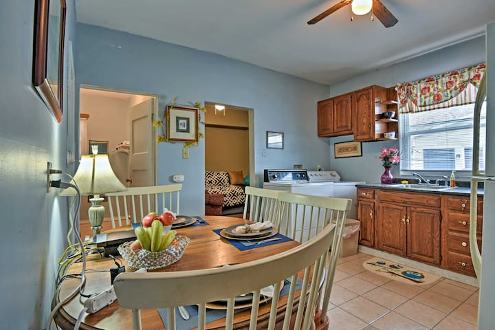 Guests love the open concept of the apartment.