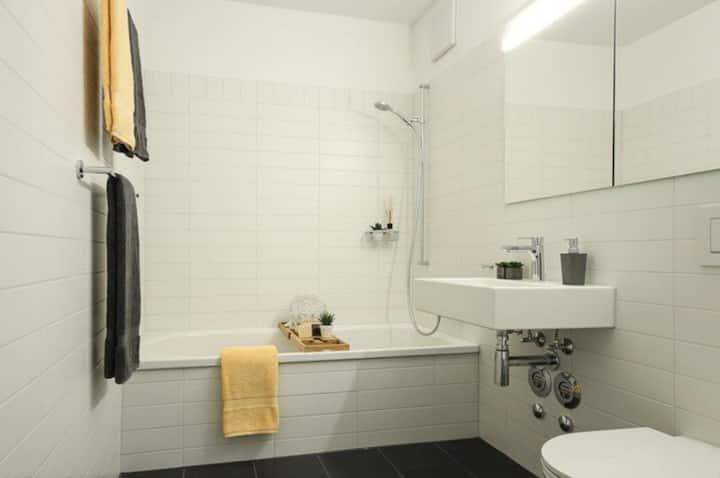 Apartamento novo a 50 metros do BaselWorld