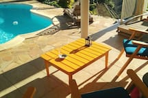 Our terrasse / notre terrasse
