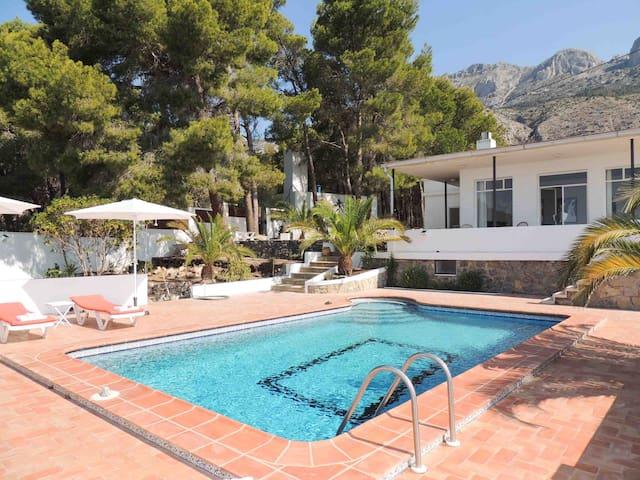 Nice villa 4 bedrooms pool see view - Altea - Casa