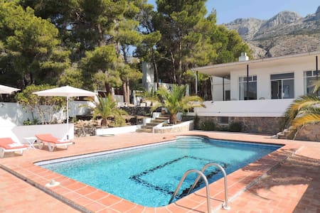 Nice villa 4 bedrooms pool see view - Altea - Hus