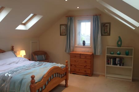 Orchard House , large en suite bedroom - Somercotes