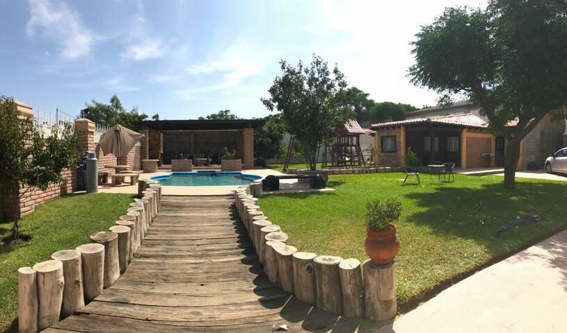 Casa cabaña en Tecate