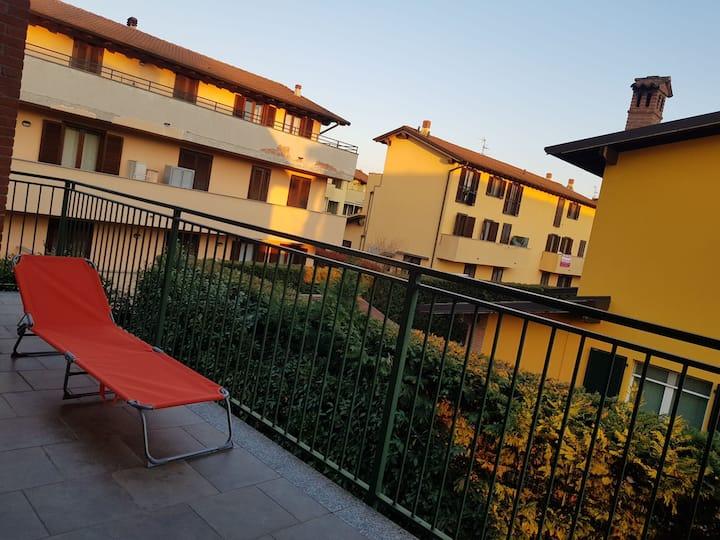 """La """"Quercia Fiorita"""" suite familiare con balcone"""