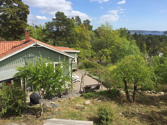Great view in Stockholm archapelago - Saltsjöbaden - 別荘