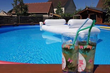 Maison piscine-Jardin  Val d'Europe-Disney(15min) - La Houssaye-en-Brie
