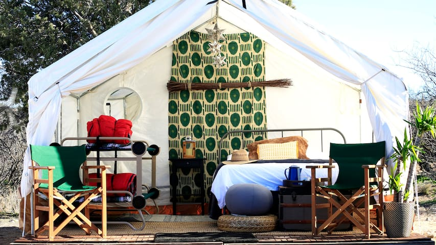 Out of Africa Glamping Safari - Manzini Tent