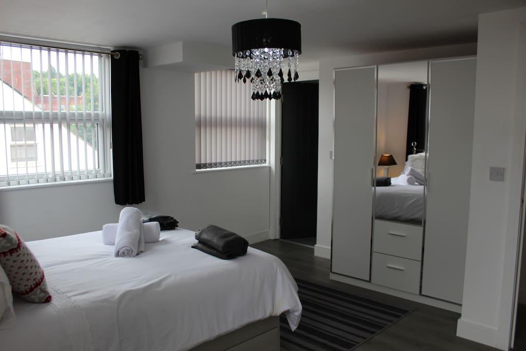This is the En-suite Bedroom; Double bed