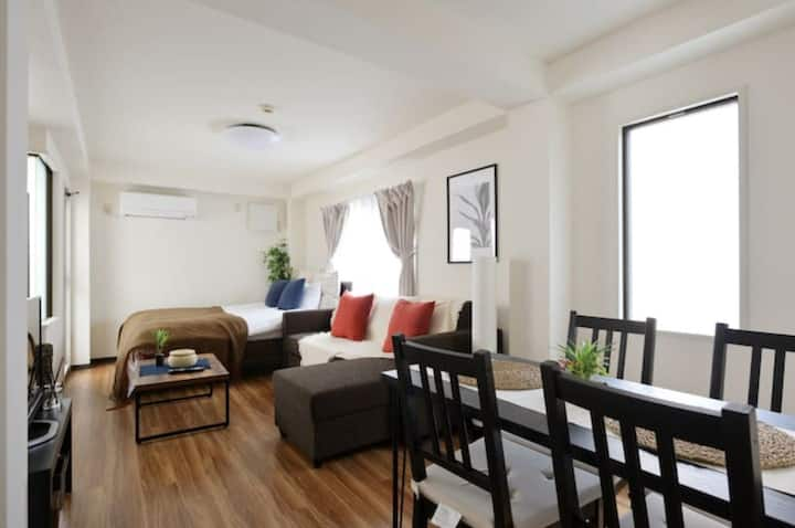 A2111/center of Osaka/wifi/full rent/4pp☆505
