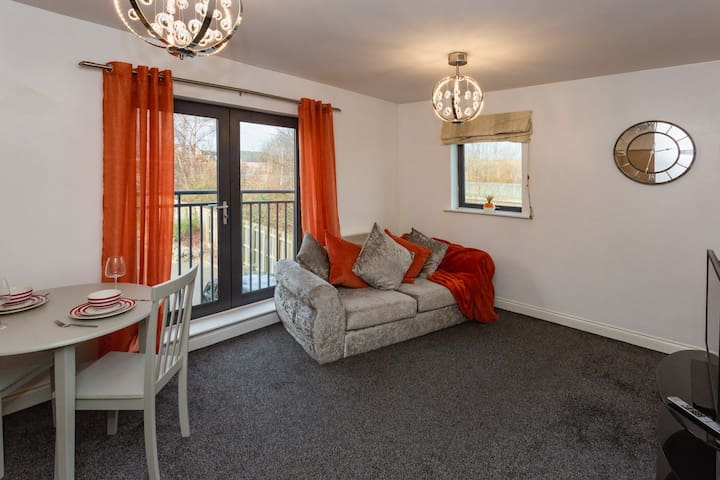 Luxury 1 Bedroom Apartment Meadowhall/City Centre