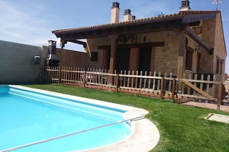 Casa en Segovia con piscina privada y barbacoa