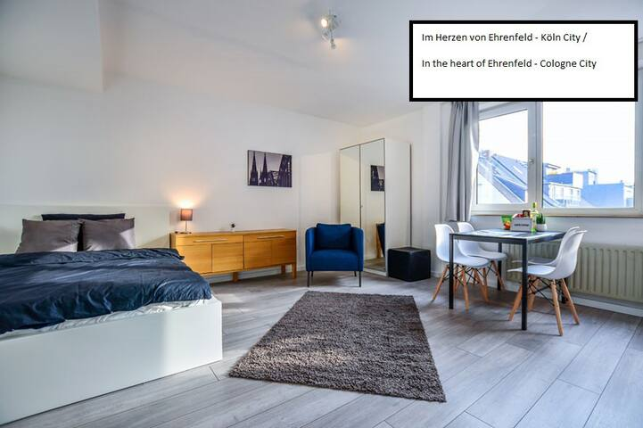 """Top-modern in """"Ehrenfeld"""" - at Cologne Downtown!"""