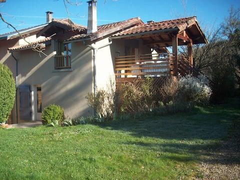 Studio avec vue sur les Pyrénées