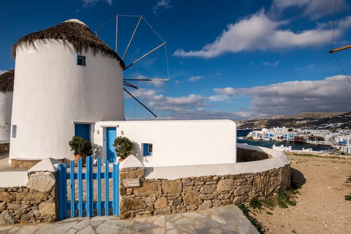 Iconic Landmark - Windmill Meltemi - Míkonos - Casa