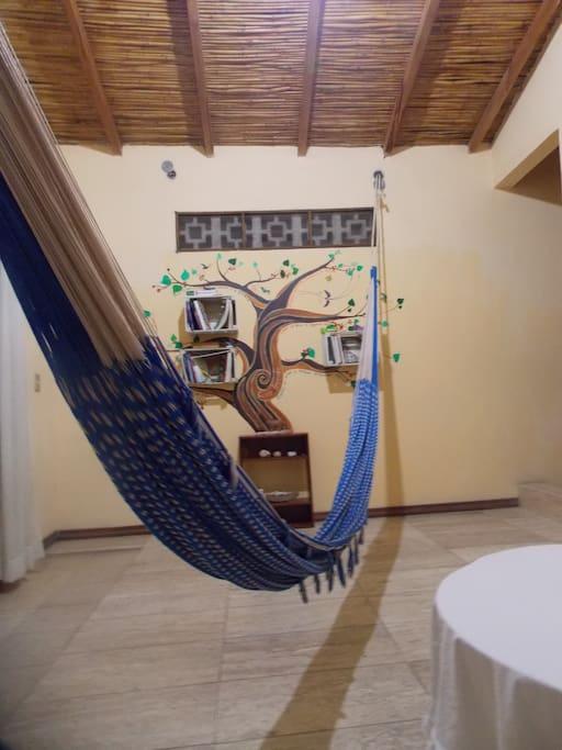 Sala común para huéspedes