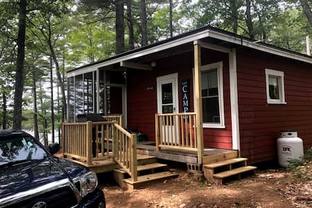Charming, private real Maine camp