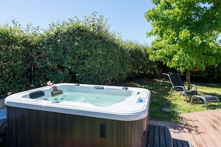 Maison Piscine et jacuzzi chauffe - Ternay - Dom