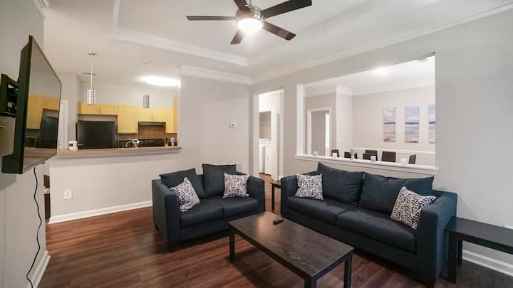 Alpharetta 2bed/2bth - 10 mins to The Avalon