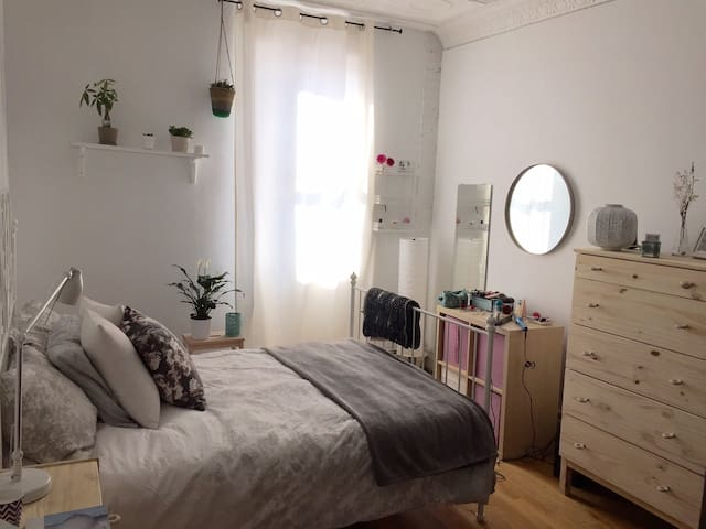 Beautiful room perfect to spend new years eve - Brooklyn - Lägenhet