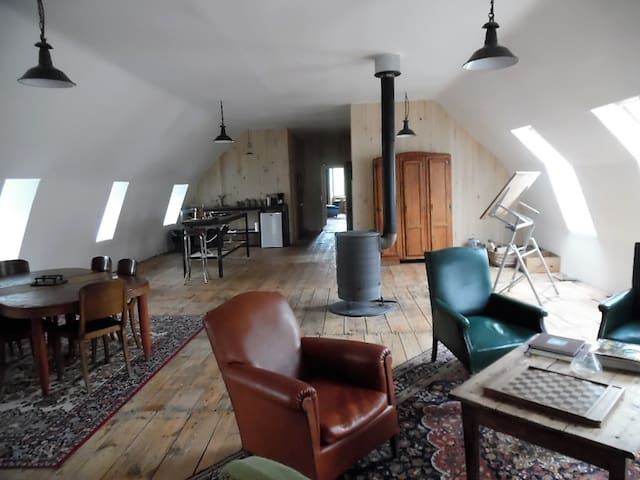Private Loft in Aubrac