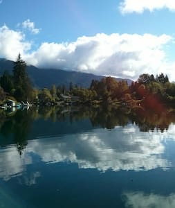 Stunning Riverfront & Private Dock - Lake Cowichan