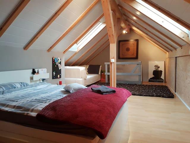Lichtdurchflutetes Dachgeschoss - Obertraubling - Hus